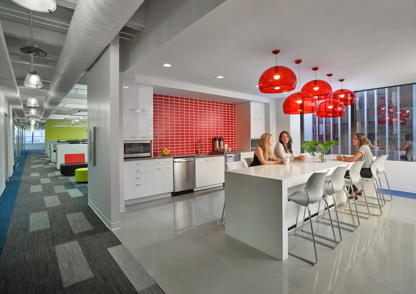 Stantec Flips The Script On Bland Office Kitchens